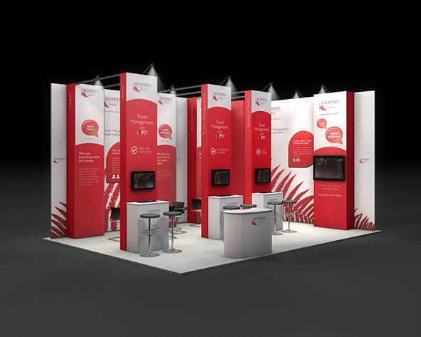 Custom Exhibition Stand Jobs : Jobs now completed with custom exhibition stand design