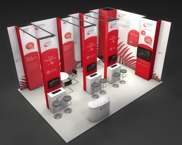 Exhibition Stand Job Vacancies : Jobs now completed with custom exhibition stand design