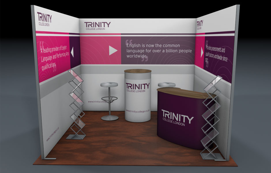 Exhibition Stand Graphic Design : Exhibition stand design graphic artwork cost