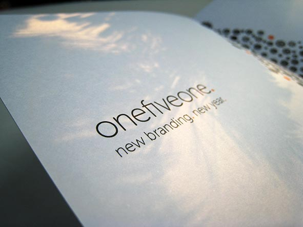 onefiveone christmas card 2012