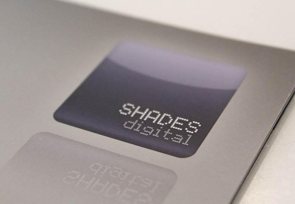 shades brochure design