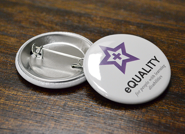 eQuality printed badges